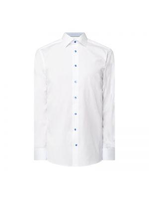 Biała koszula bawełniana z długimi rękawami Eton