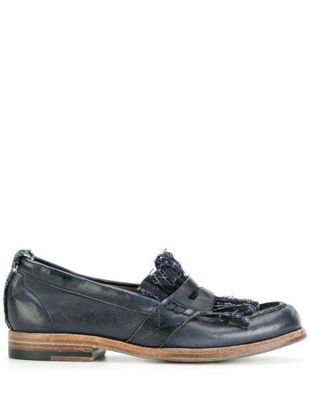 Loafers niebieski Sartori Gold