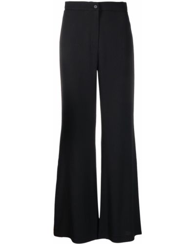 С завышенной талией черные брюки свободного кроя Lautre Chose