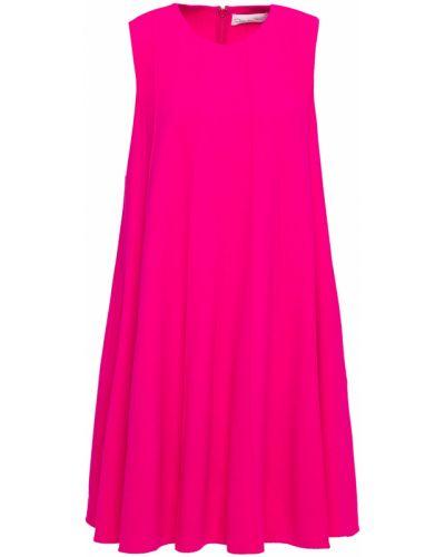 Шерстяное платье - зеленое Oscar De La Renta