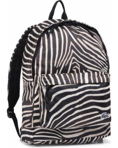 Beżowy plecak Lacoste