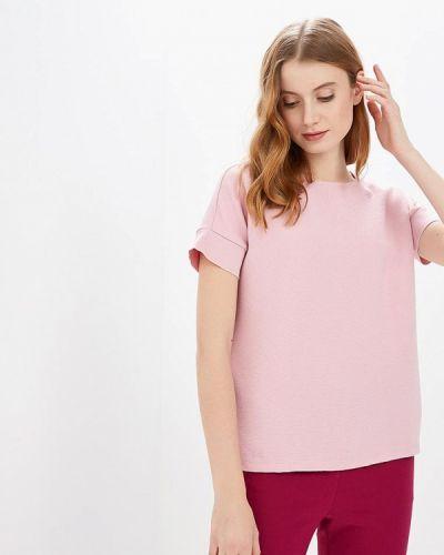 Блузка с коротким рукавом розовая весенний Ostin