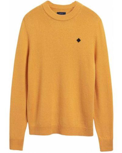 Sweter - pomarańczowy Gant
