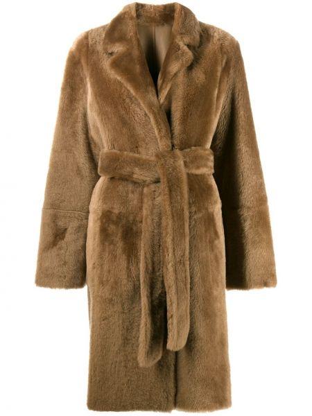 Пальто двустороннее пальто Yves Salomon Army