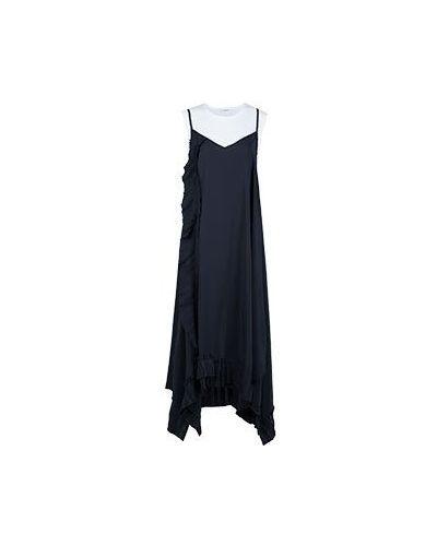 Синее повседневное платье P.a.r.o.s.h.
