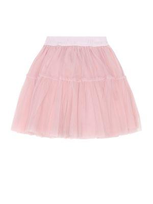 Розовая юбка из фатина Monnalisa
