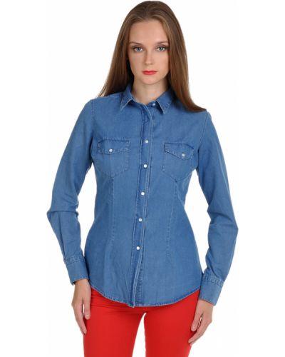 Рубашка синяя Sophie