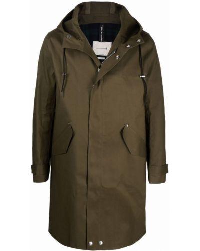 Płaszcz przeciwdeszczowy - zielony Mackintosh