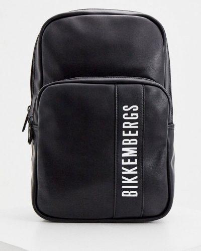 Городской черный рюкзак Bikkembergs