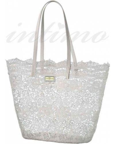 Пляжная пляжная сумка - белая Marc & Andre