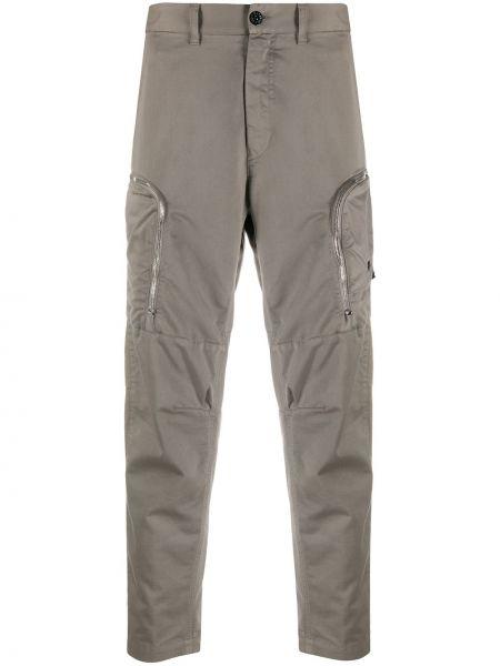 Spodnie bawełniane z paskiem Stone Island Shadow Project