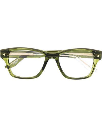 Zielone okulary Snob