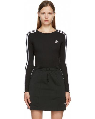 Боди с длинными рукавами - белое Adidas Originals