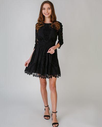Кружевное платье с аппликациями Only