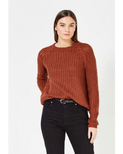 Джемпер коричневый Only