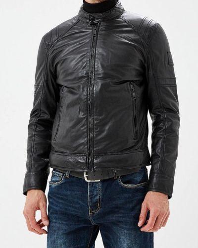 Кожаная куртка осенняя Strellson