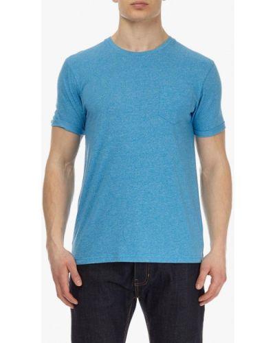 Голубая футболка Burton Menswear London