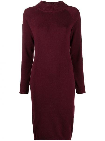 Платье макси с длинными рукавами - красное Kappa