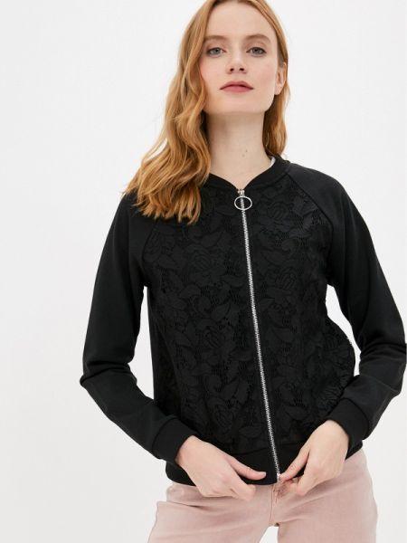 Куртка весенняя черная Q/s Designed By