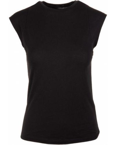 Czarna koszulka Frame