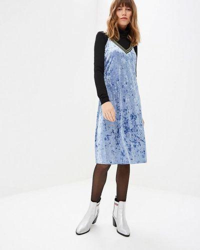 Платье платье-комбинация осеннее Befree