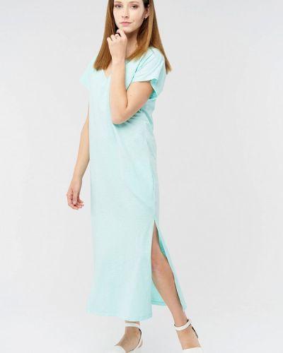 Повседневное платье весеннее бирюзовый Mascot