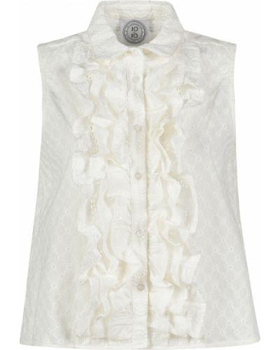 Блузка белая весенний 10x10anitaliantheory
