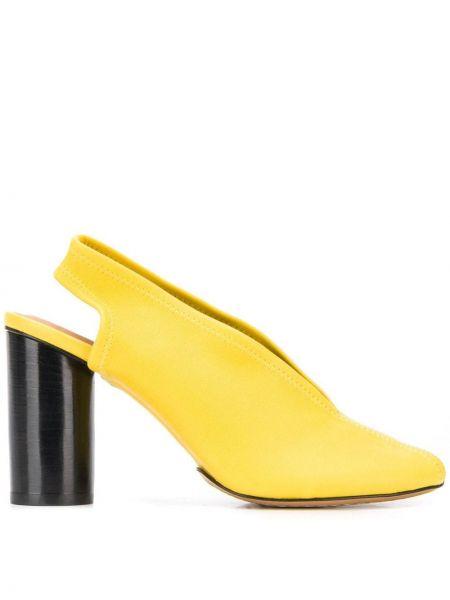 Туфли-лодочки на каблуке с открытой пяткой Isabel Marant