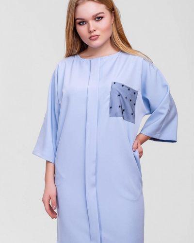 Платье - голубое Sfn