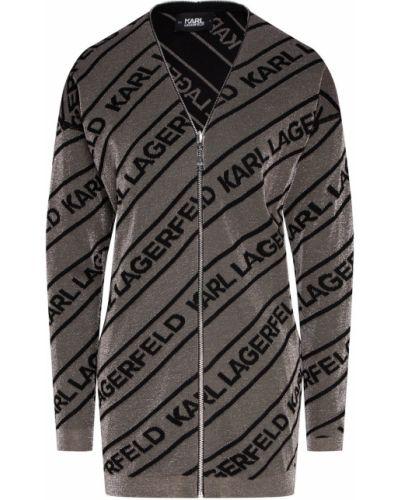 Кардиган на молнии длинный Karl Lagerfeld