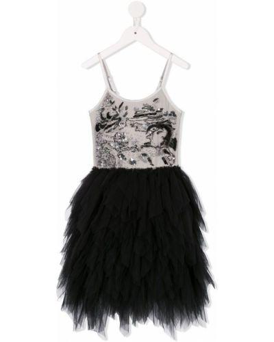 Черное платье из фатина Tutu Du Monde
