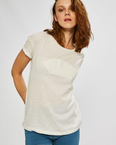 Белая свободная футболка Broadway