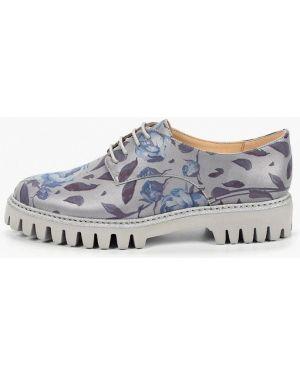 Кожаные ботинки кожаные на каблуке Marie Collet