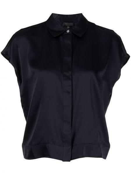 Шелковая рубашка - синяя Atm Anthony Thomas Melillo