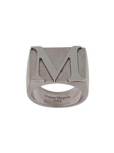 Srebro pierścień Maison Margiela
