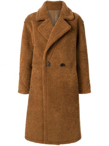 Длинное пальто с капюшоном на пуговицах Loveless