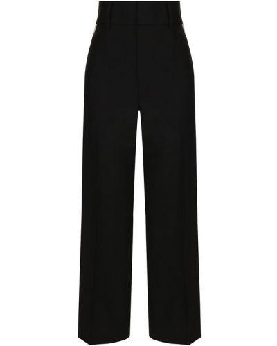 Укороченные брюки со стрелками хлопковые Helmut Lang