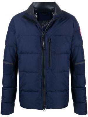 Пуховая куртка - синяя Canada Goose