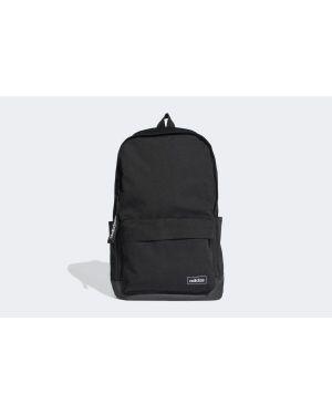 Klasyczny czarny sport plecak w paski Adidas