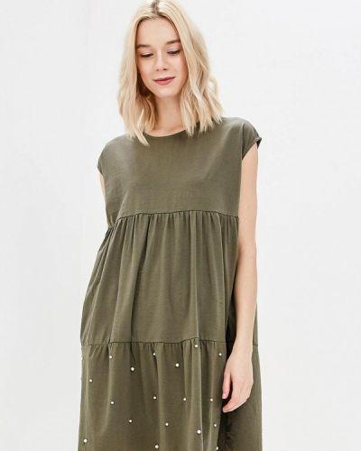 Платье весеннее хаки Zeza