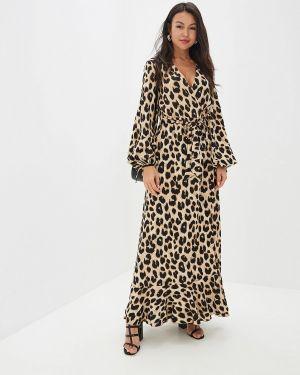 Платье - бежевое Gepur