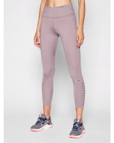 Legginsy - fioletowe Nike