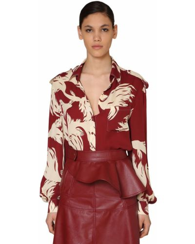 Блузка на пуговицах Johanna Ortiz