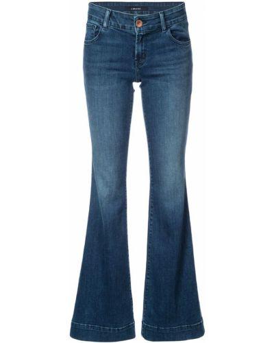 Синие расклешенные джинсы J Brand