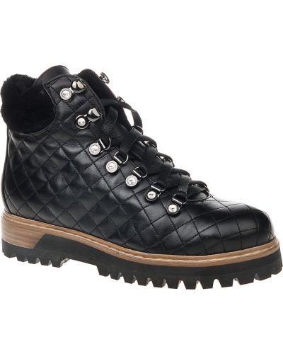 Черные ботинки на каблуке Le Silla
