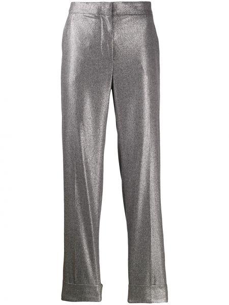 Брюки с завышенной талией брюки-хулиганы дудочки Pt01