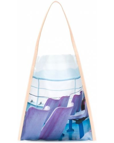 Синяя сумка-тоут Pb 0110