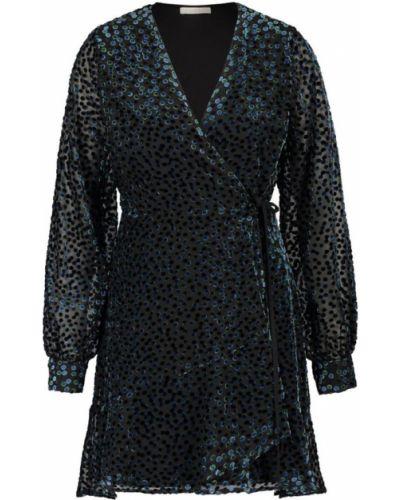 Czarna sukienka midi elegancka Freebird