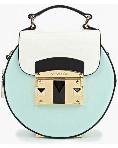 Кожаный сумка лаковая через плечо Cromia