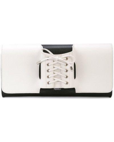 Корсет на шнуровке белый Perrin Paris